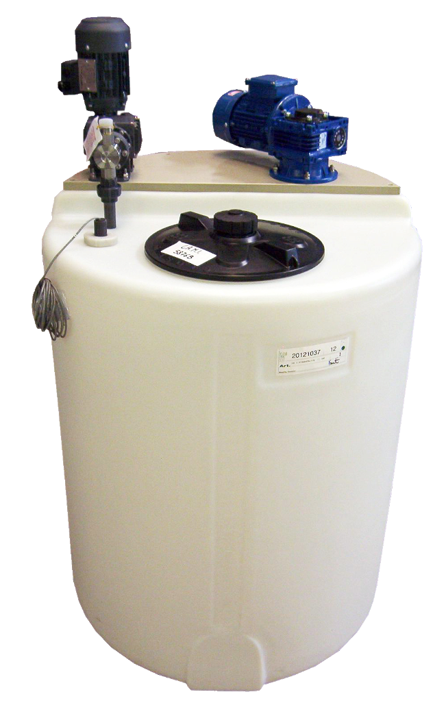 Chemical Holding Tank